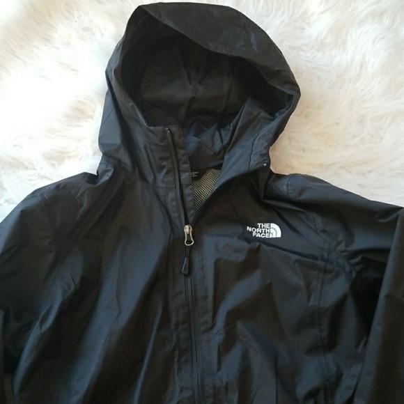1021d5b50 Ladies North Face Black Dryvent Rain Coat Size L